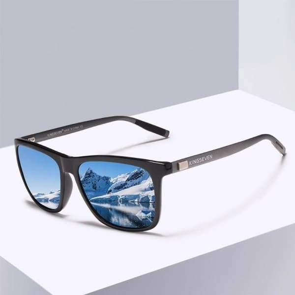 Polarized Lens Retro Sunglasses