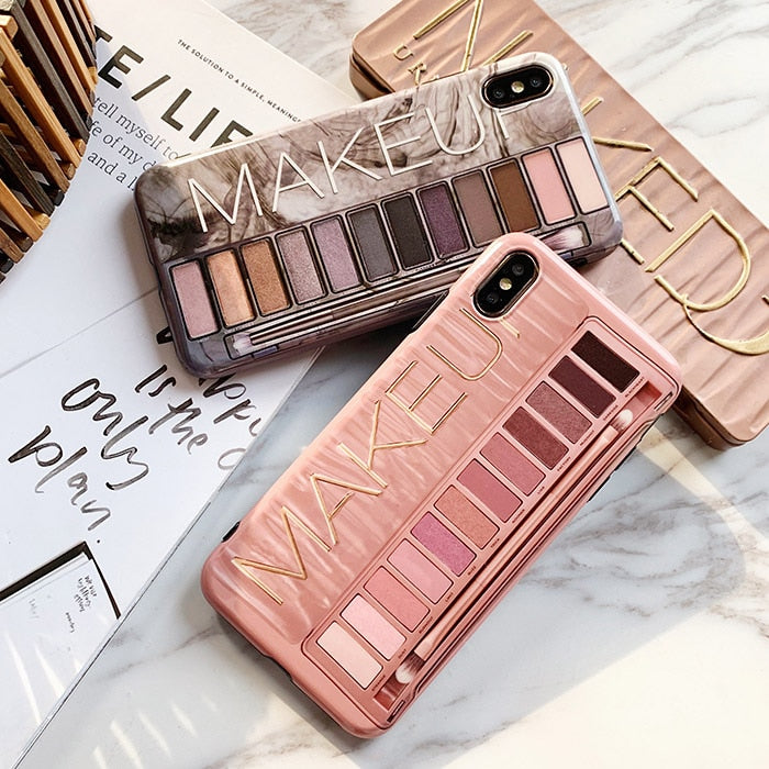 Make-up Palette Design iPhone Case Creative Phone Cover