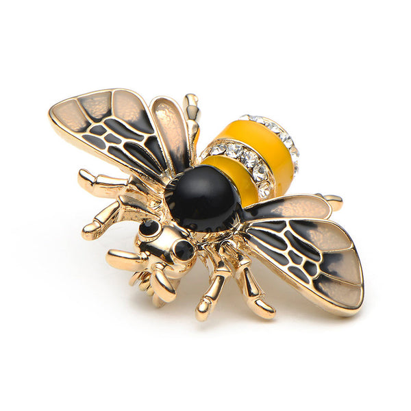 Bee Brooches yellow