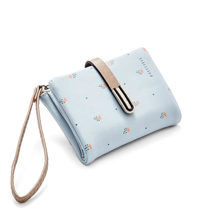 Women Wallet Short Coin Card Holder Ladies Money Bag