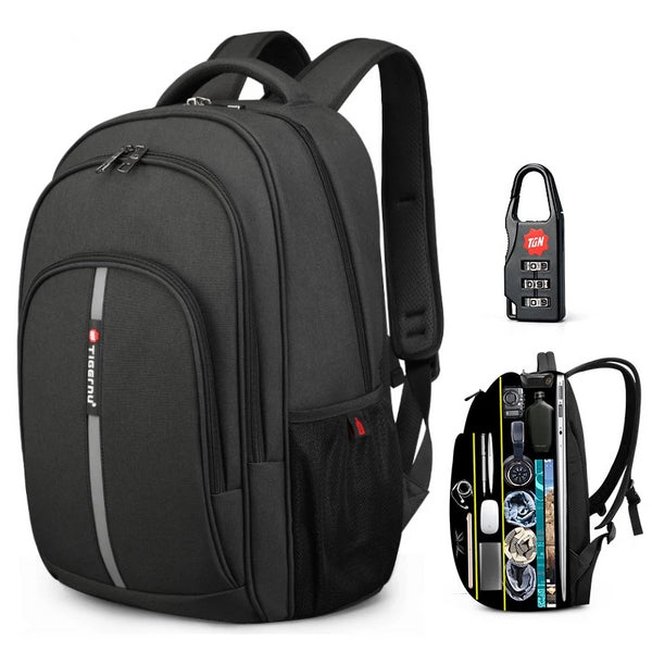 Waterproof Business Travel Large Capacity Anti Theft Backpack