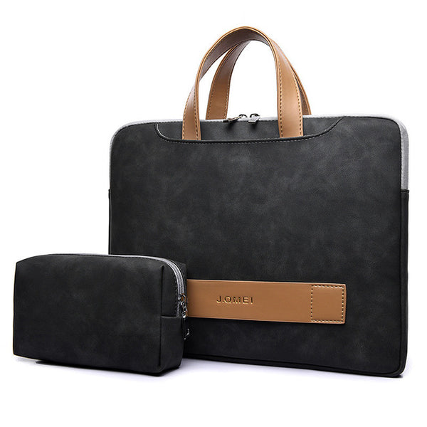 Fashion Women Laptop Bag Portable Ultra Thin Briefcase
