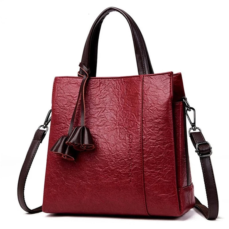 Genuine Leather Luxury Designer Women Shoulder Crossbody Bags