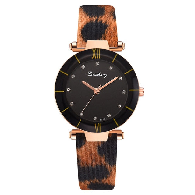 Fashion Leopard Print Women Quartz Watches Creative New Style 2020