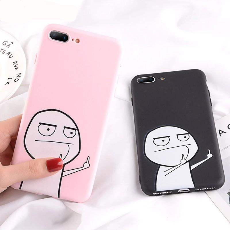 Candy Cartoon Phone Cases Funny iPhone 11 Pro 6 6S 7 8 Plus 5s SE Case