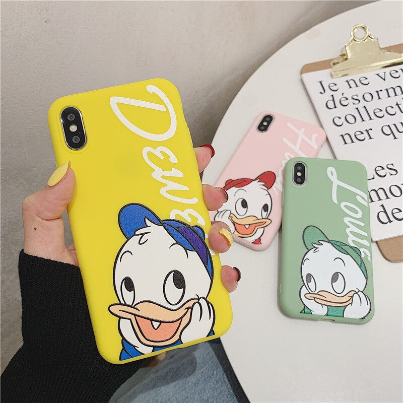 Cute Cartoon Donald Duck iPhone Case Tom Jerry Phone Cases