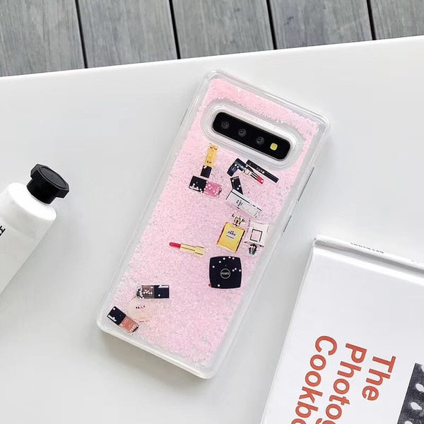 Luxury Glitter Makeup Cosmetic Quicksand Case Samsung Galaxy S10 S10 Plus