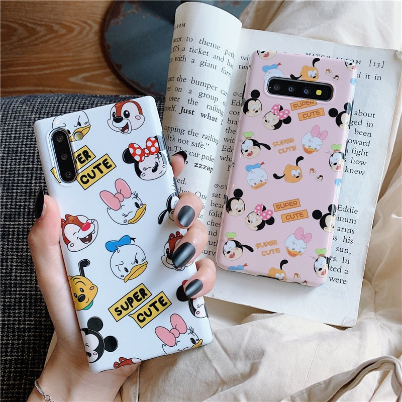 Mickey Minnie Phone Case Cute Cartoon Samsung Galaxy Cases