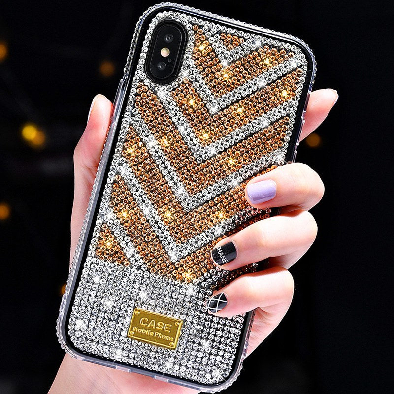 Luxury Diamond Glitter Phone Case For iPhone X XR XS Max