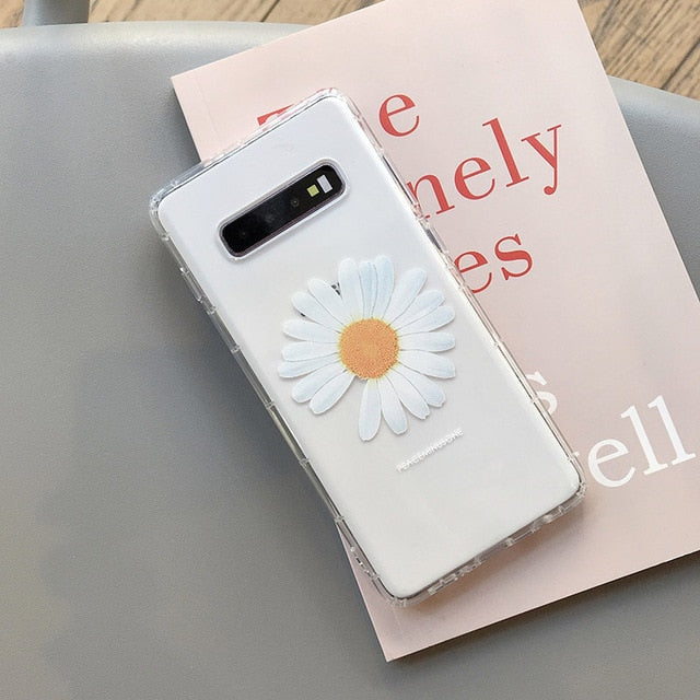 Real Dried Flowers Case Samsung
