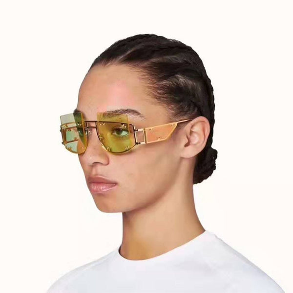 Brand Designer Oversized Big Square Sunglasses