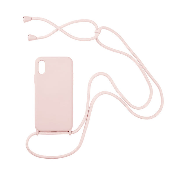 Lanyard Necklace iPhone Case Crossbody Cord Adjustable Simple Phone Cover