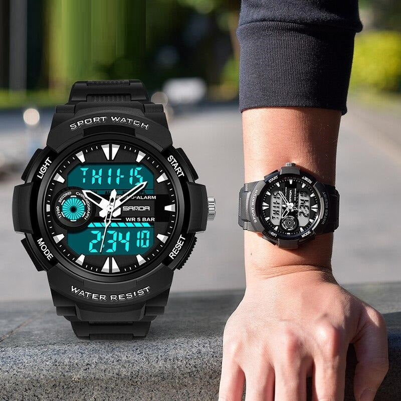 Sports Swimming Men's Watch Military Waterproof Digital Wristwatches