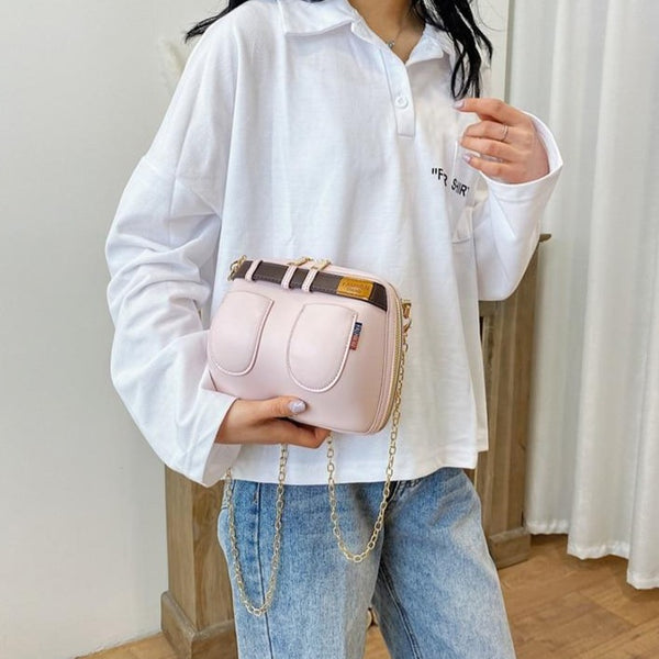 Dazzling and Fun Jeans Design Fashion Women Crossbody Bag