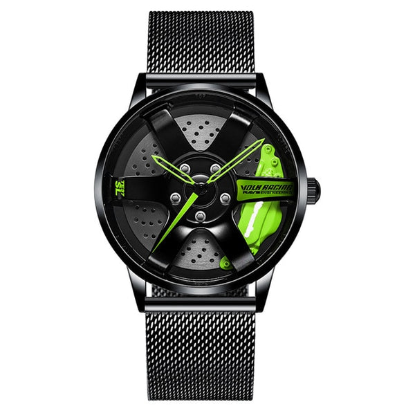Custom Wheel Rim Hub Watch Creative Design Men Sport Watches