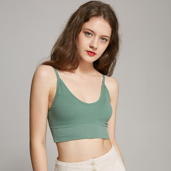 Women Sexy Crop Tops Camis