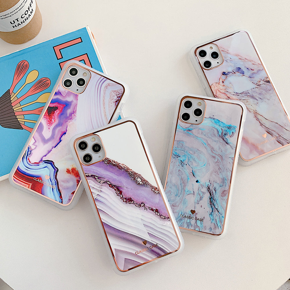 Non-slip Shockproof Marble Phone Case for iPhone