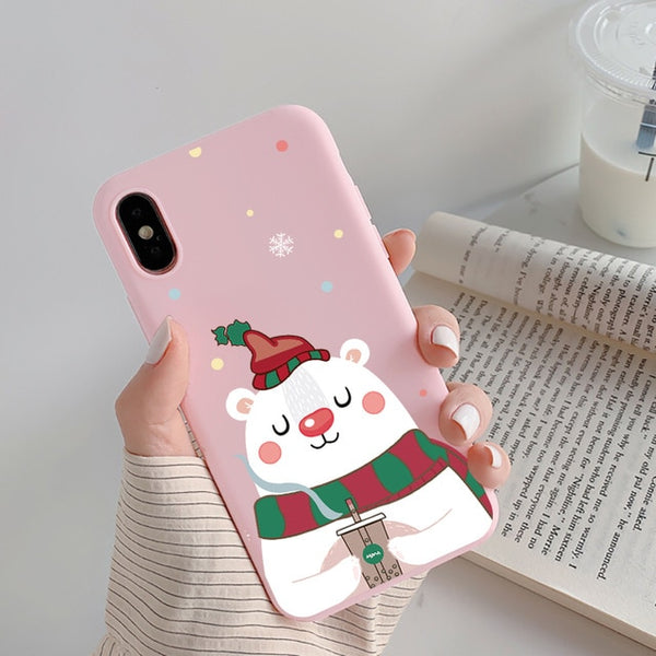 Cute Christmas Phone Case for iPhone - LABONNI