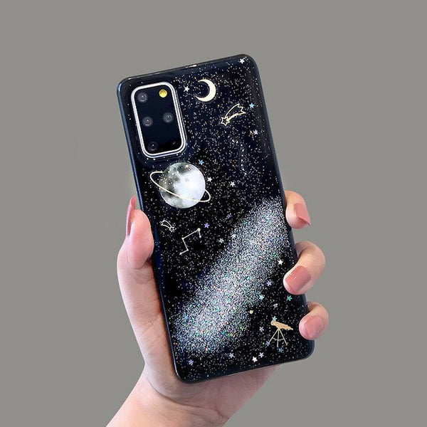 Star Cases for Samsung Galaxy S9 S10 Plus S20 Planet Phone Cover