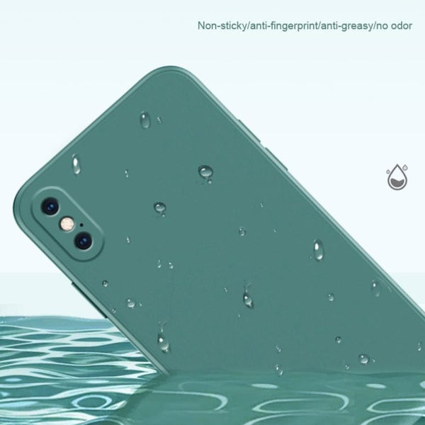 Luxury Liquid Silicone Case For iPhone 11 Pro Max green