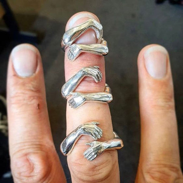 Give You A Warm Hug Lover Finger Ring