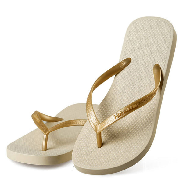 Women's Slim Flip Flops Fashion Beach Slippers Flat Sandals