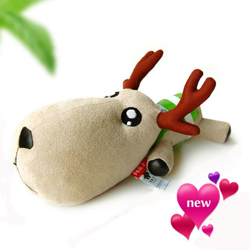 Bamboo Charcoal Bag Fawn Doll Deer Car Deodorant Decoration Toys