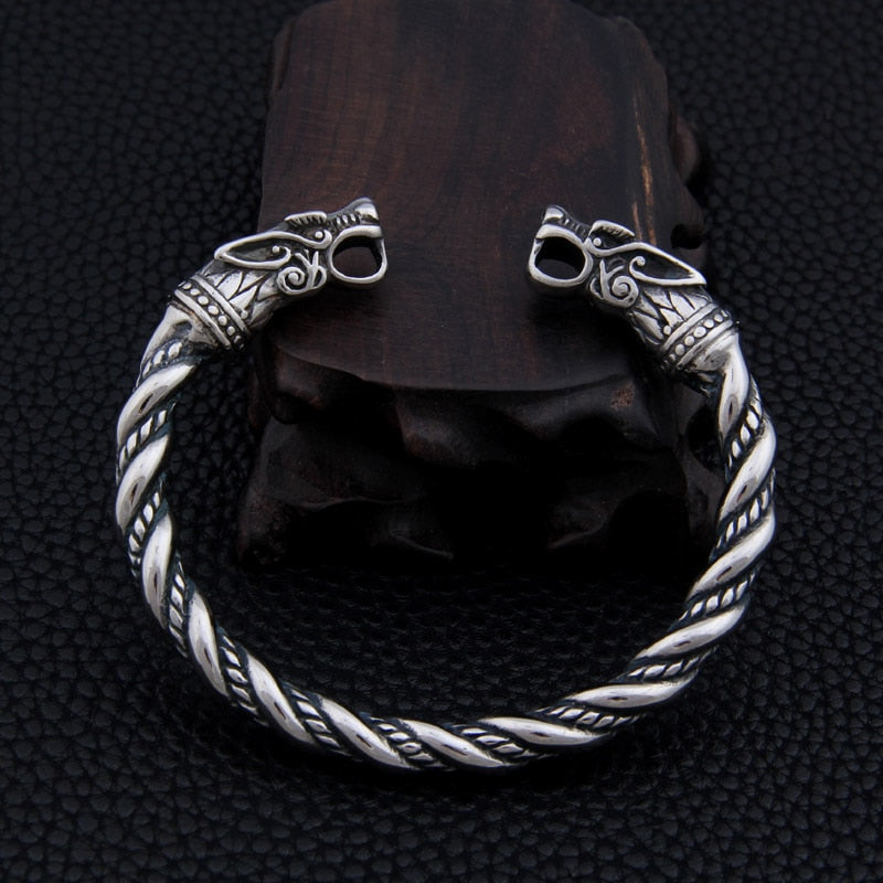 Dragon Bracelet Men Viking Cuff Bangles Fashion Jewelry Accessories