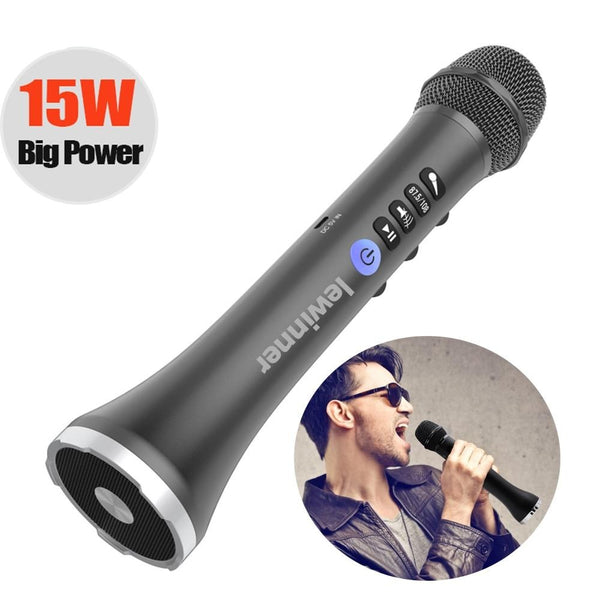 Wireless Karaoke Microphone Bluetooth Speaker