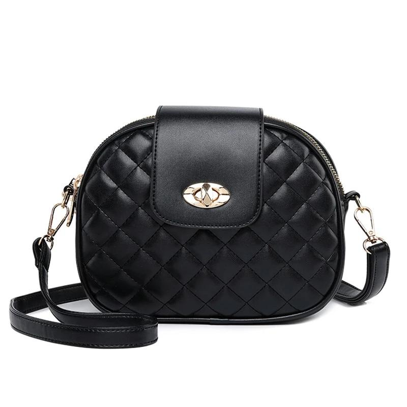 Fashion Crossbody Bags for Women High Capacity 3 Layer Shoulder Bag