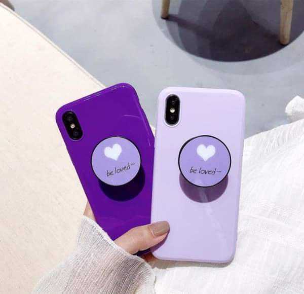Purple iPhone X Case 6/6s/7/8/8 Plus Cell Phone Cases