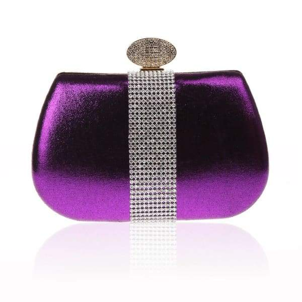 Purple Wedding Evening Clutch Bag Bags