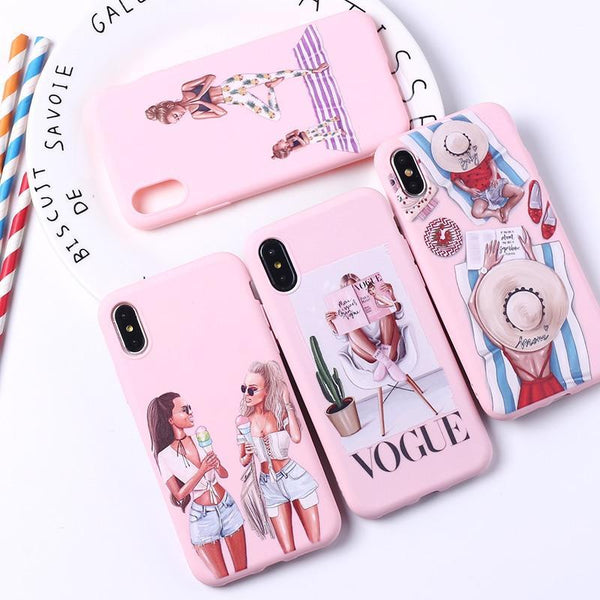 Queen Classy Paris Girl Summer Mom Baby Candy iPhone Case Phone Cases
