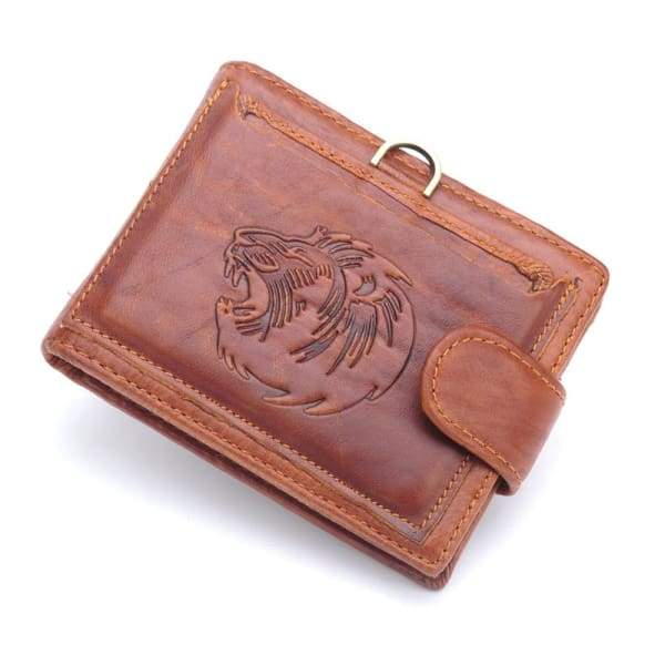 Real Genuine Cow Leather Men Wallets Wallet