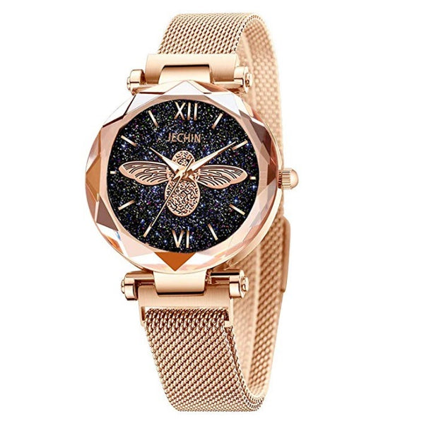 Women's Starry Sky Magnetic Buckle Bracelet Watches