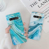 Star River Marble Phone Case For Samsung Galaxy S10