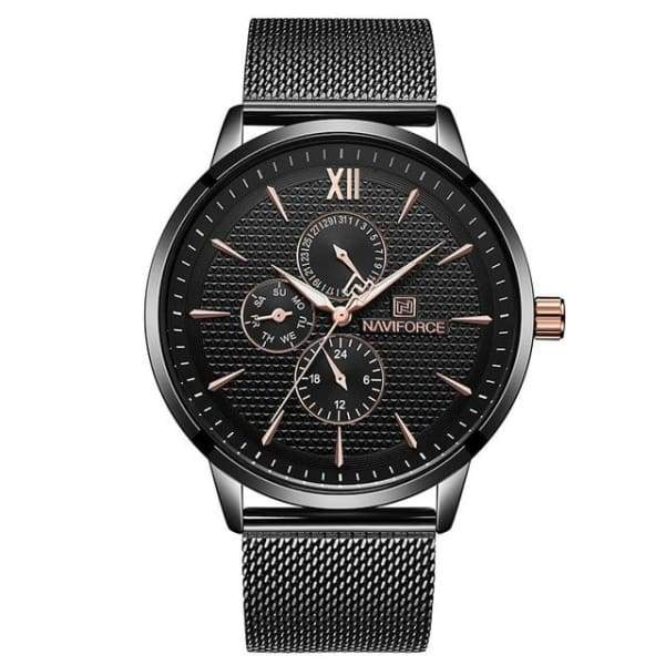 Top Brand Luxury Men Stainless Steel Ultra Thin Watch Relogio Masculino