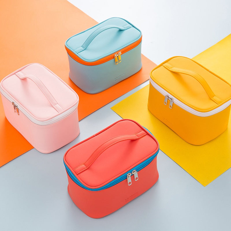 Candy Colors Cosmetic Bags Washable Multifunctional Storage Bag