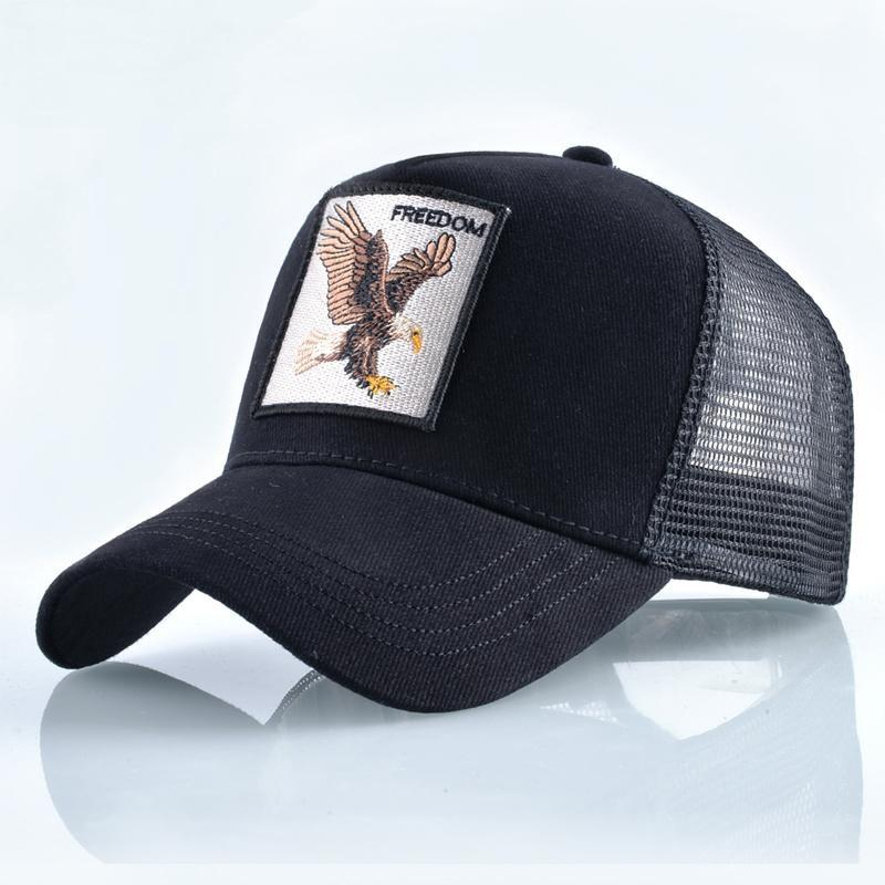 Unisex Hip Hop Fashion Animals Embroidery Baseball Caps Cap