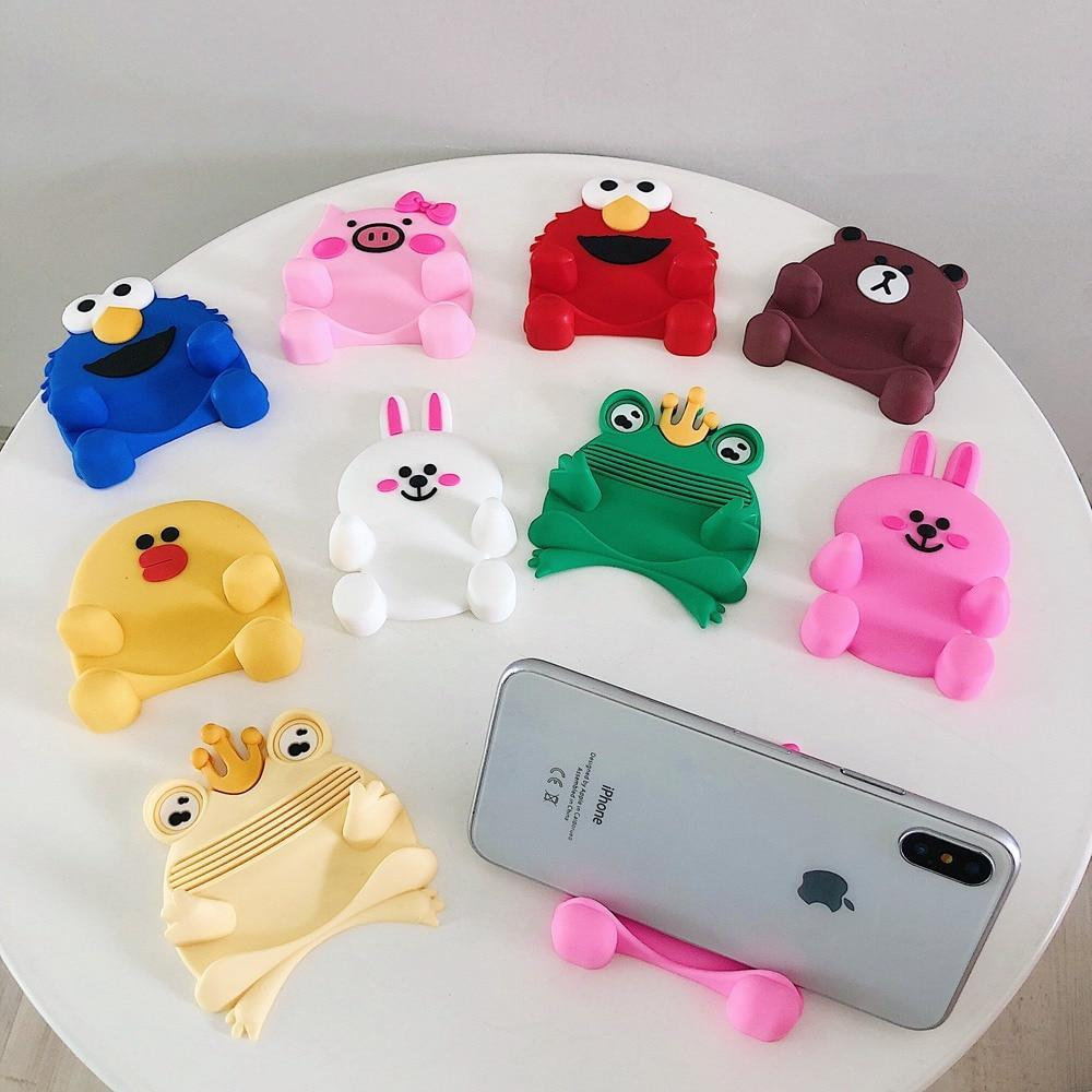 Universal Phone Holder Stand Cartoon Rabbit Mobile Bracket Accessories