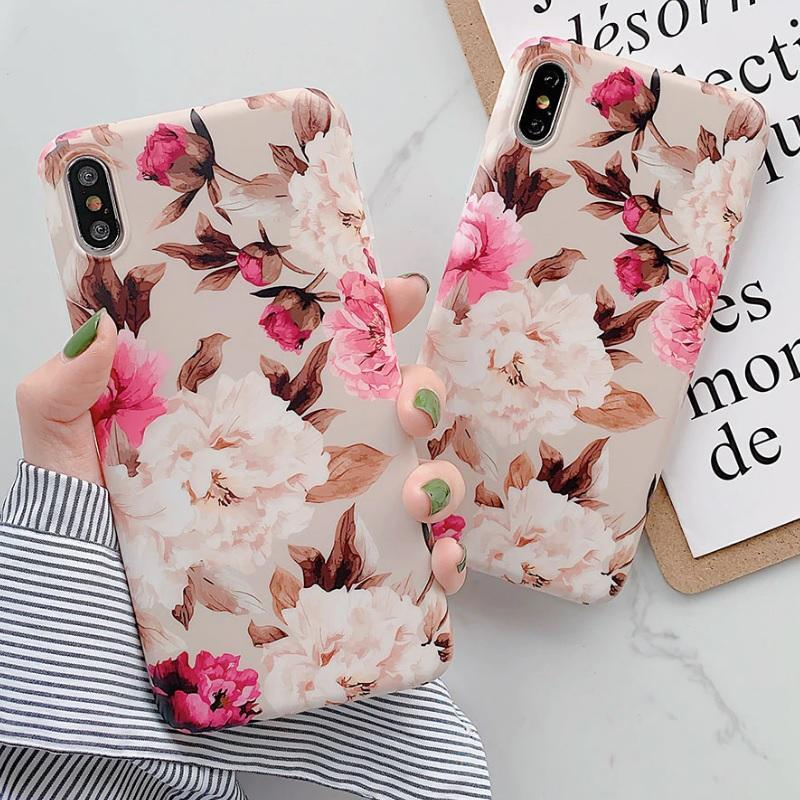 Vintage Flowers Phone Cases High Quality Floral iPhone Case