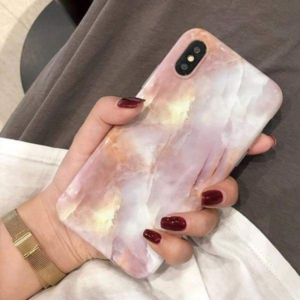 Vintage Marble Case For iPhone Phone Cases