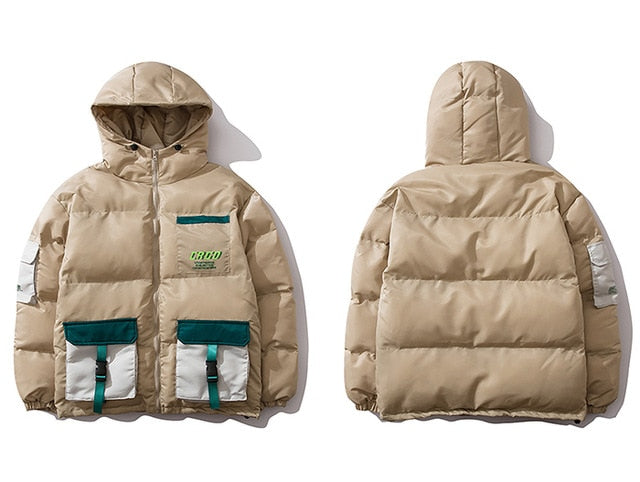 Multi Pockets Streetwear Coat