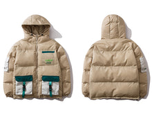 Load image into Gallery viewer, Multi Pockets Streetwear Coat