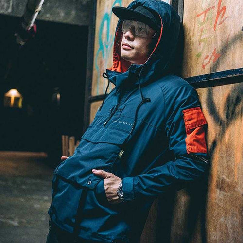 Front Pocket Windbreaker | Urban Antistar