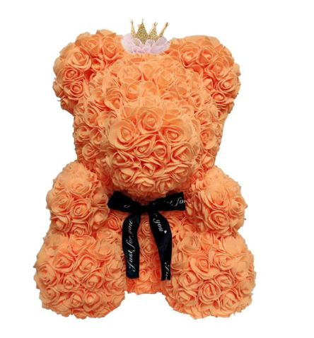 The Posh Rose Teddy Bear For Valentines Day Birthday Gifts - Our Comfy HQ