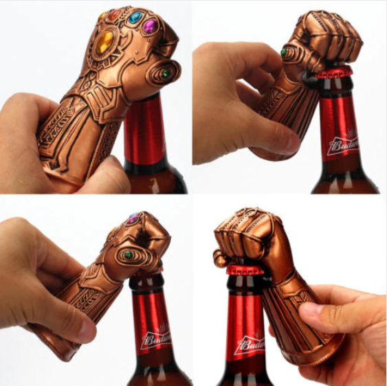 Avengers End Game Thanos Infinity Gaunlet / Thor Hammer Beer Bottle Opener - Our Comfy HQ