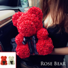 Image of The Posh Rose Teddy Bear For Valentines Day Birthday Gifts - Our Comfy HQ
