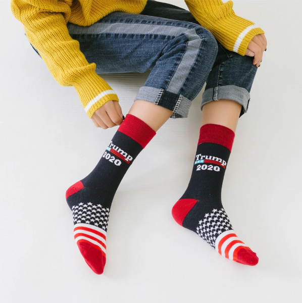 Trump 2020 Socks Donald J. Trump Republican GOP Presidential Election - Our Comfy HQ