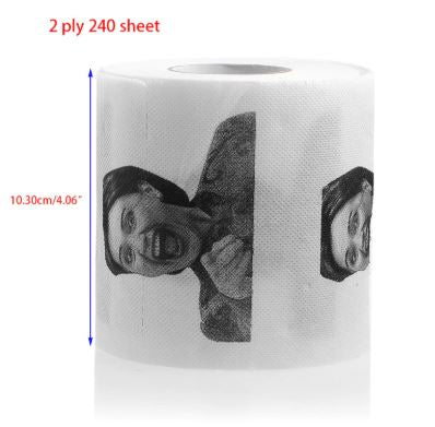 United States American Ex First Lady Hillary Clinton Toilet Paper Roll - Our Comfy HQ
